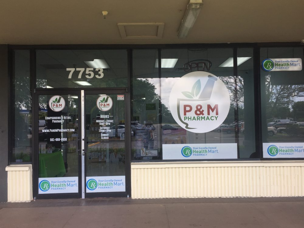 P&M Pharmacy Retail Store Front